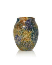 a 'Cloisonné' glass vase, shape MF