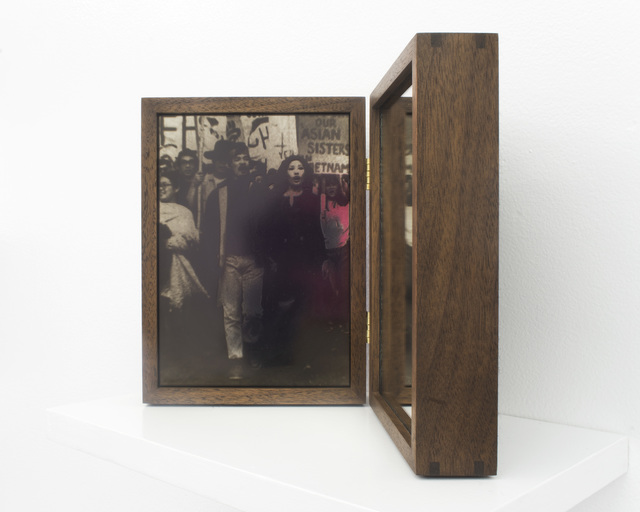 , 'Reflection: Anti U.S. War in Vietnam in San Francisco, 1969 ,' 2018, Rubber Factory
