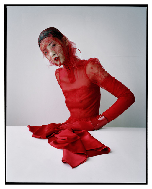 , 'Liu Wen in Valentino, New York,' 2012, Michael Hoppen Gallery