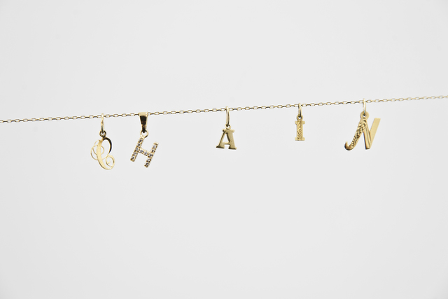 Anetta Mona Chisa & Lucia Tkáčová, 'Nom de guerre', 2013, Sculpture, Installation, gold chains and jewellery, waterside contemporary