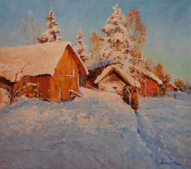 , 'Winter Conversation ,' 2015, Abend Gallery