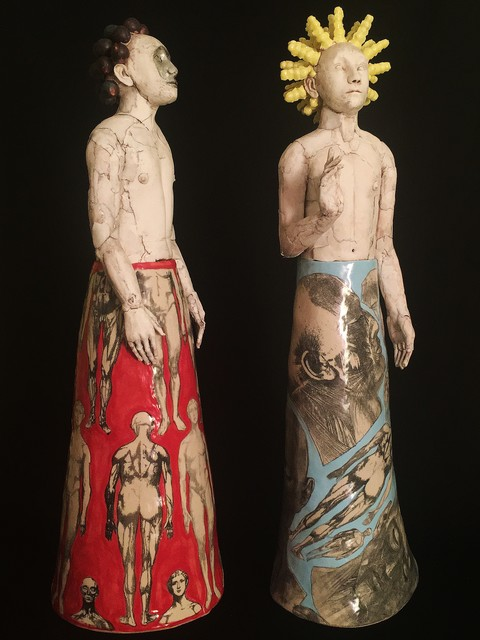 , 'Bartholomew and Peter,' , Castlegate House Gallery