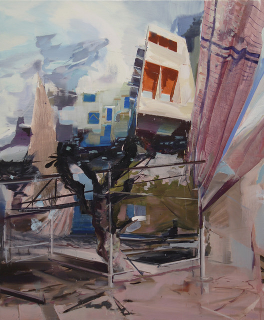 , 'Stilts,' 2013, Galerie Antoine Ertaskiran