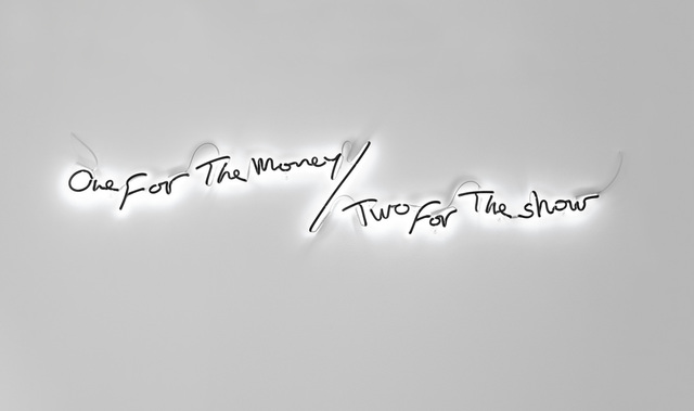 , 'One for the money, two for the show,' 2015, Michel Rein Paris/Brussels