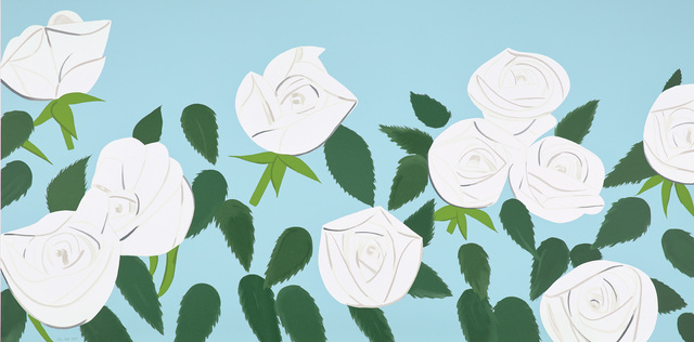Alex Katz, 'White Roses', 2014, Phillips