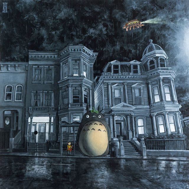 , 'Waiting for the Catbus (My Neighbor Totoro),' 2018, Modern Eden