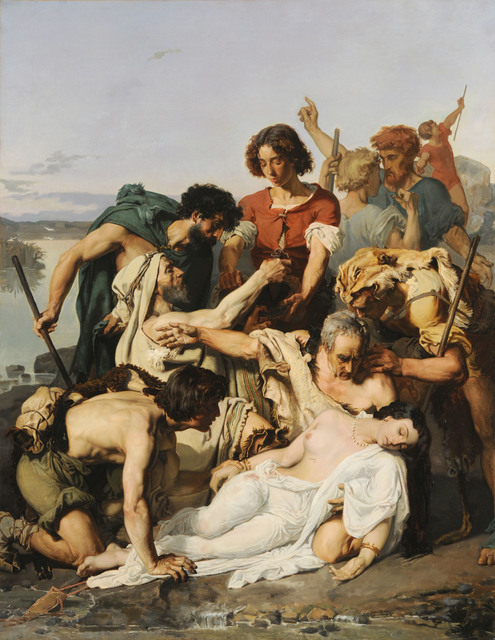 , 'Zenobia Discovered by Shepherds on the Banks of the Araxes ,' 1850, American Federation of Arts