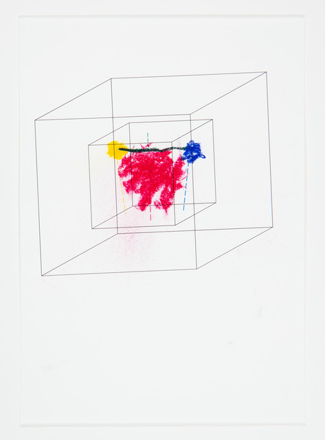 , 'Impossible Pictures (Brain image in double Necker cube I),' 2013, OSL Contemporary