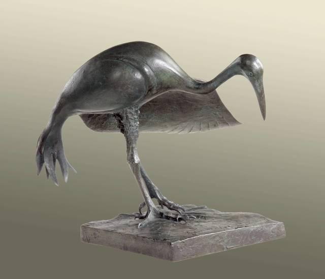 Elliot Offner, 'Leaning Crane #1', 2005, Vose Galleries