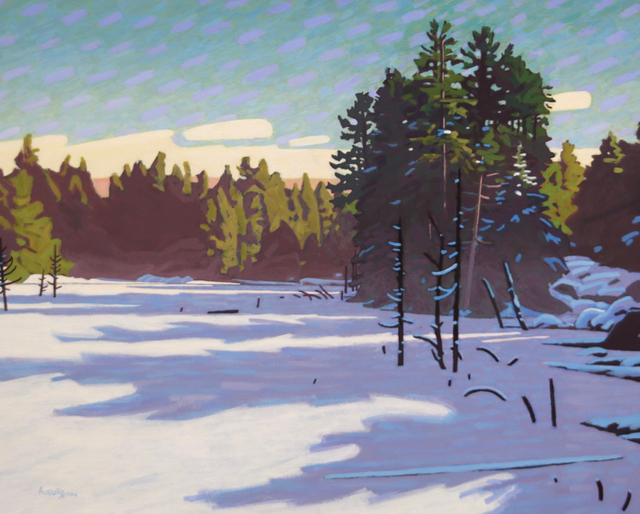 , 'Winter Freeze,' , Madrona Gallery