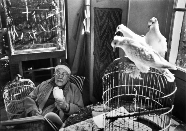 , 'Henri Matisse at his Home, 'Le Reve', Vence, France,' 1944, Beetles + Huxley