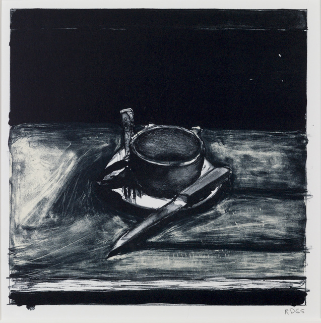 , 'Cup, Saucer, Fork and Knife,' 1965, Susan Sheehan Gallery