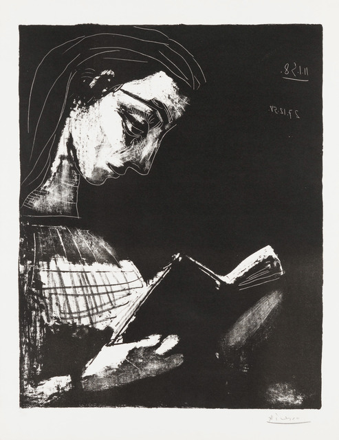 Pablo Picasso, 'Jacqueline Reading', 1958, Christopher-Clark Fine Art