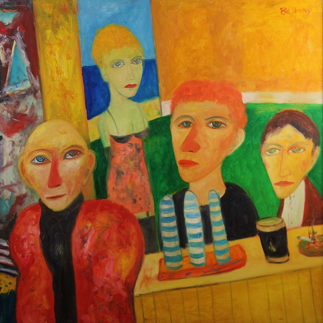 , 'The Pub,' ca. 1990, Castlegate House Gallery