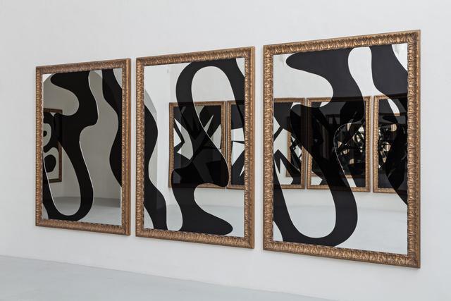 , 'Vortice-trittico (Vortex-triptyque),' 2010-2013, Galleria Continua