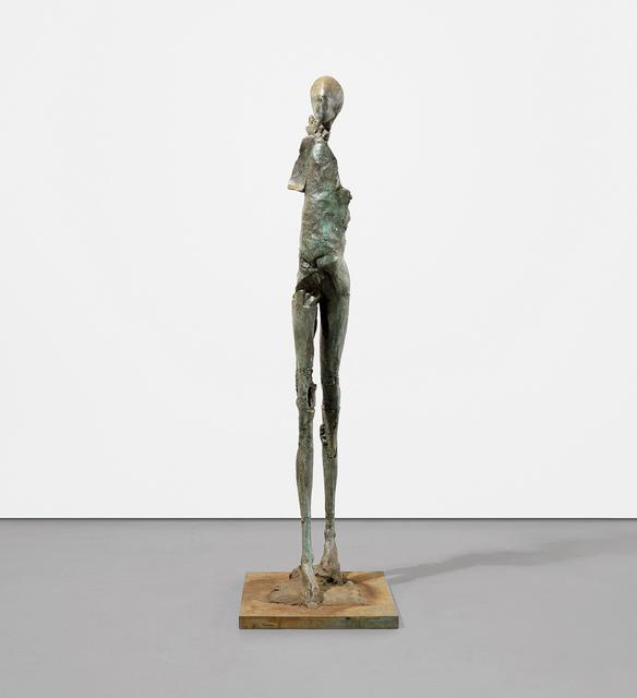 Stephen De Staebler, 'Walking Man II', 1989-1990, Dolby Chadwick Gallery