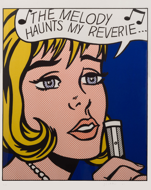 Roy Lichtenstein, 'Reverie', 1965, IFAC Arts