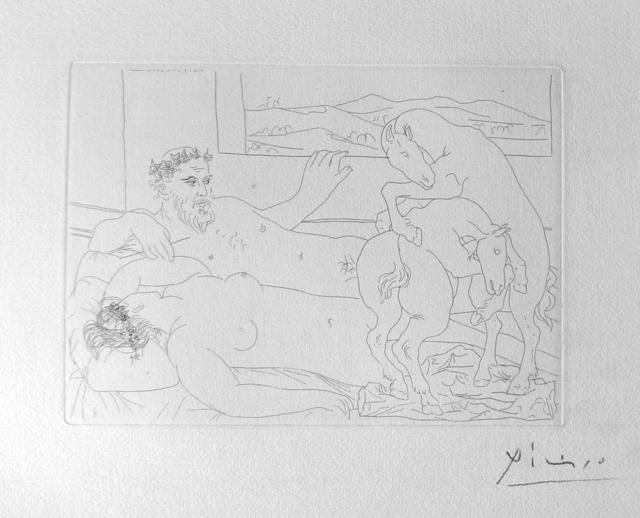 Pablo Picasso, 'Le Repos du Sculpteur III', 1933, Van der Vorst- Art