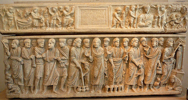 , 'The Sarcophagus of Marcus Claudianus from San Giacomo in Settimiana,' ca. 330, Art History 101