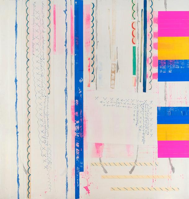 , 'L'annoncée,' 2002, La Patinoire Royale / Galerie Valerie Bach