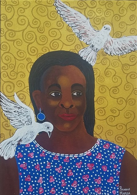 Phindile Mamba, 'My Angels', 2019, Yebo Art Gallery