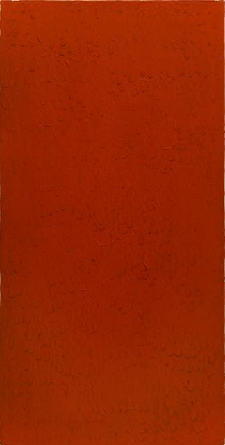 Bernard Aubertin, 'Monochrome rouge', 1974, Painting, Acrylic on canvas, ABC-ARTE