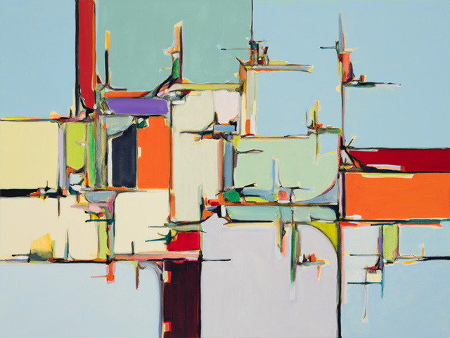 , 'Water, Bridge, Land I,' , Chicago Art Source