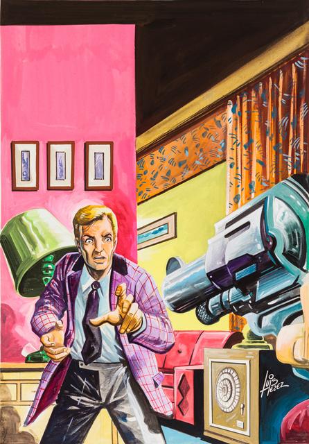 , 'Untitled (Man pointing gun),' c. 1960-75, Ricco/Maresca Gallery