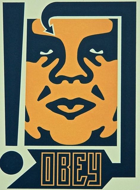 Shepard Fairey (OBEY), 'Mustard Obey', ca. 2019, AYNAC Gallery