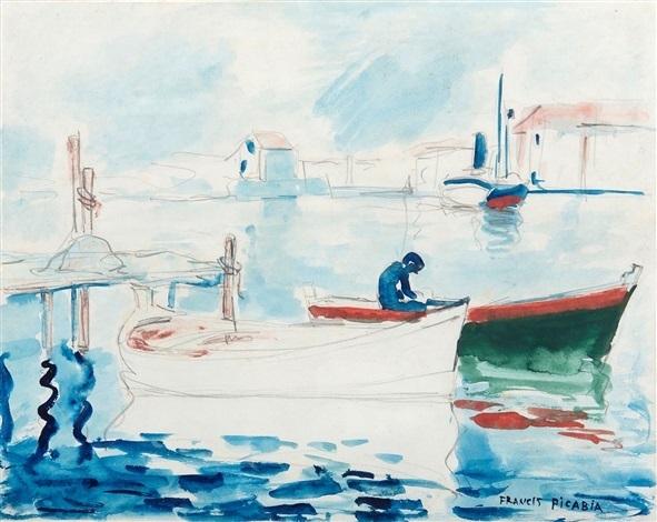 Francis Picabia, 'Le port de Saint Raphäel', ca. 1905, BAILLY GALLERY