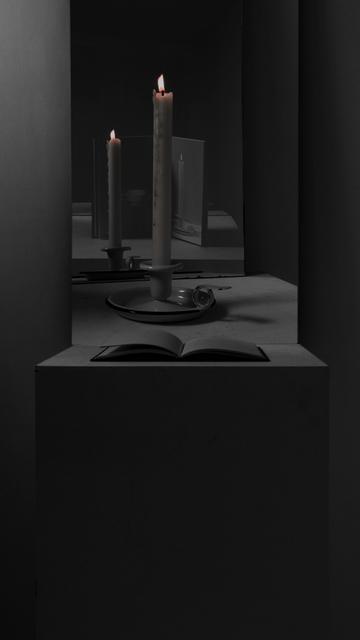 , 'Envelope,' 2014, Parafin