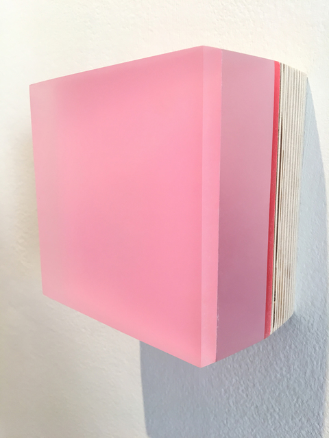 , 'Seismic Cake & Sunshine Series (light pink - wood),' 2017, Pentimenti Gallery
