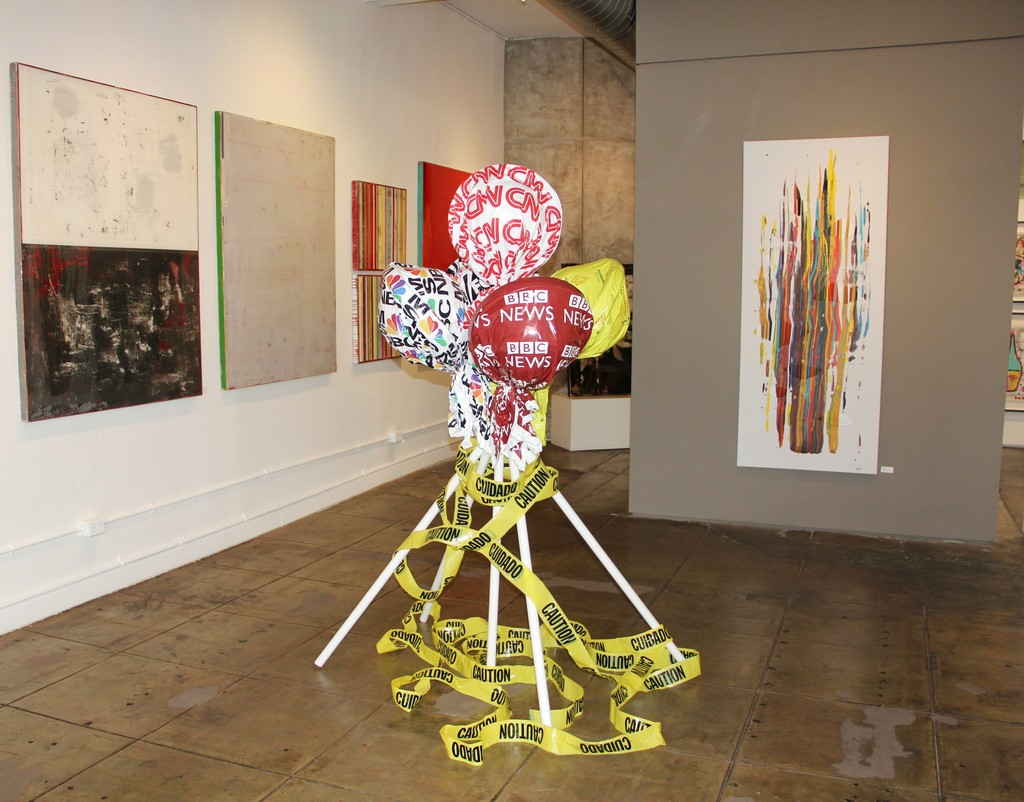 Ron Piller and Raul de la Torre artworks, Michael Habicht sculpture