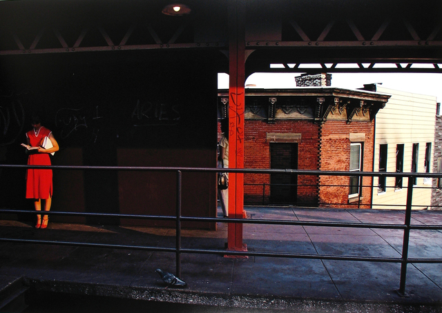 , 'Untitled, Subway, New York,' 1980, Howard Greenberg Gallery
