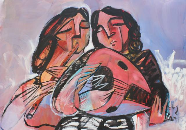 , 'Lovers,' 2015, Wadi Finan for Arts