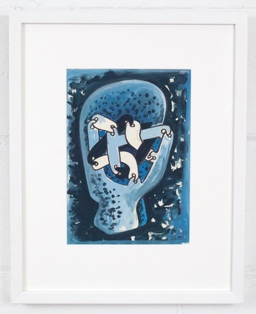 , 'Link Head Study - Blue,' 1967, Caviar20