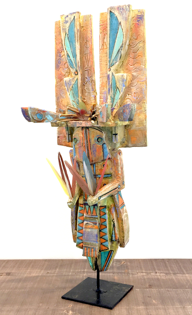 Sheldon Harvey, 'World Being IV (M)', Sculpture, Mixed media on wood, Modern West