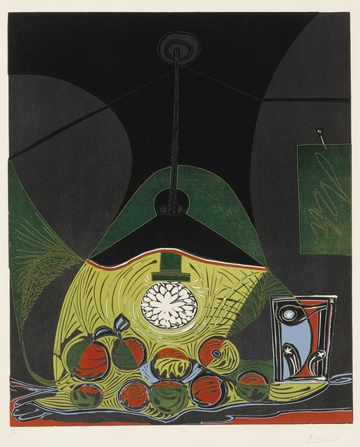 Pablo Picasso, 'Nature morte à la suspension (Nature morte sous la lampe) (B. 1102; Ba. 1313)', 1962, Sotheby's