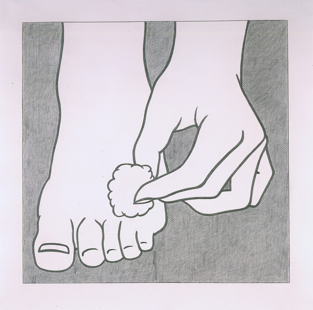 , 'Foot Medication,' 1962, Hammer Museum