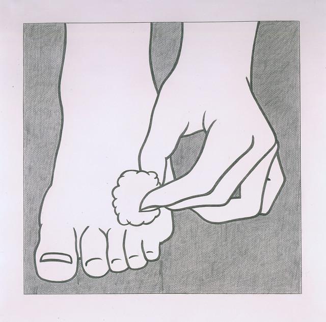 Roy Lichtenstein, 'Foot Medication', 1962, Hammer Museum