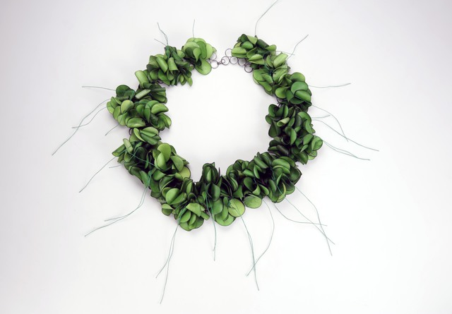 , 'Green Rustle, Necklace,' 2016, The Gallery at Reinstein|Ross