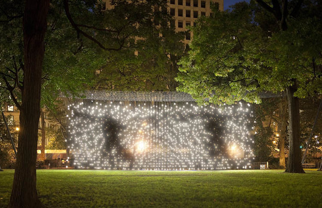 , 'Scattered Light,' 2010, Madison Square Park