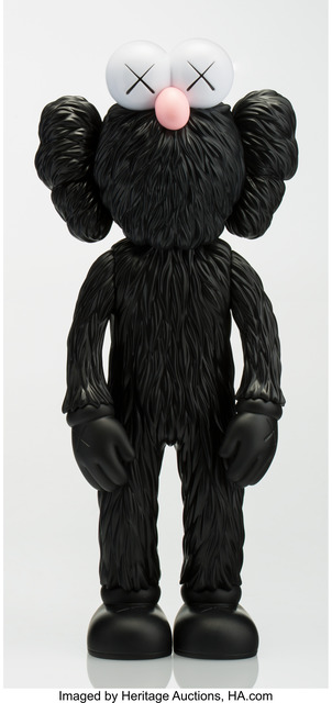 KAWS, 'BFF (Open Edition) (Black)', 2017, Heritage Auctions