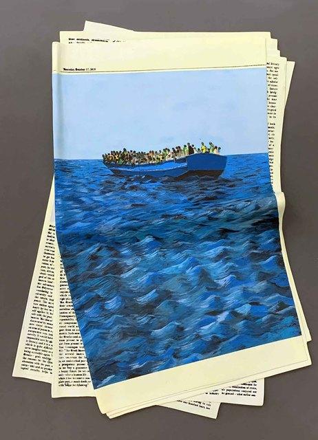 , 'Refugees,' 2019, Galeria Marília Razuk