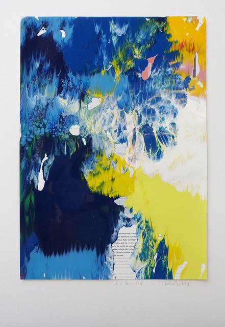 , '2.6.2008,' 2008, Galerie Andreas Binder