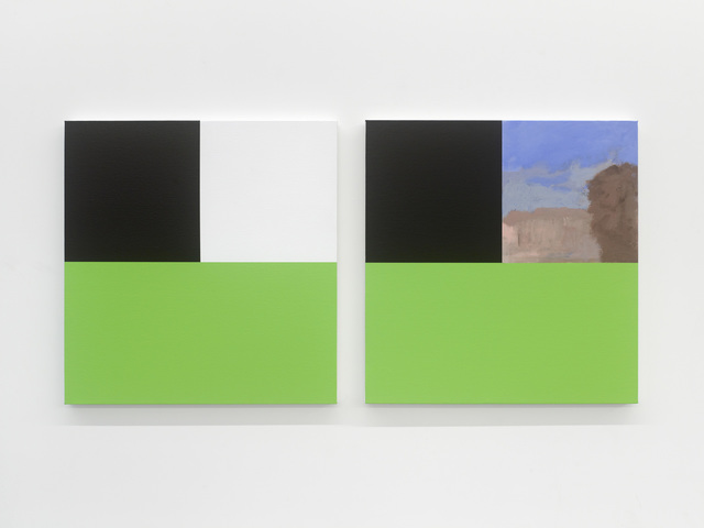 , 'Allies 1 (Green),' 2012, Tatjana Pieters