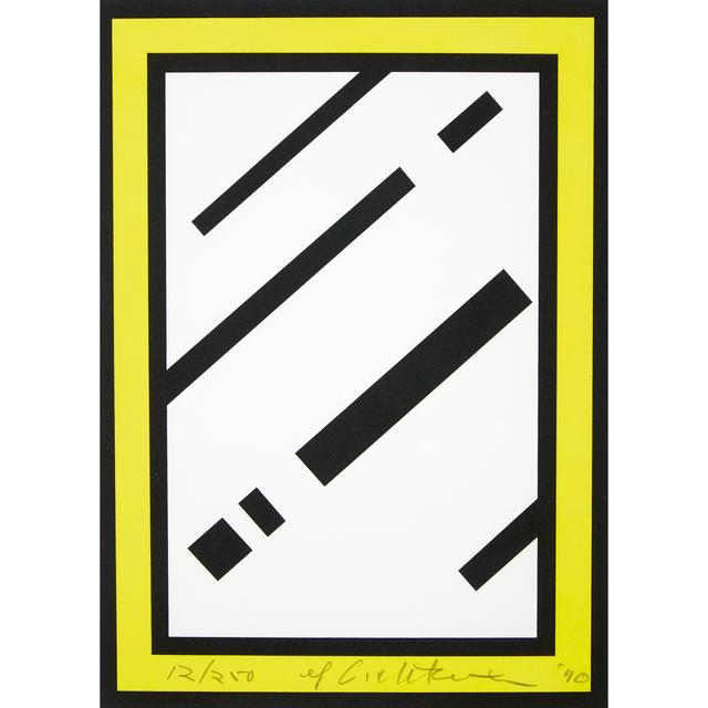 Roy Lichtenstein, 'Mirror', 1990, Freeman's