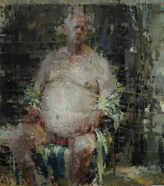 Ann Gale, 'Peter with Striped Kimono', 2014, Dolby Chadwick Gallery