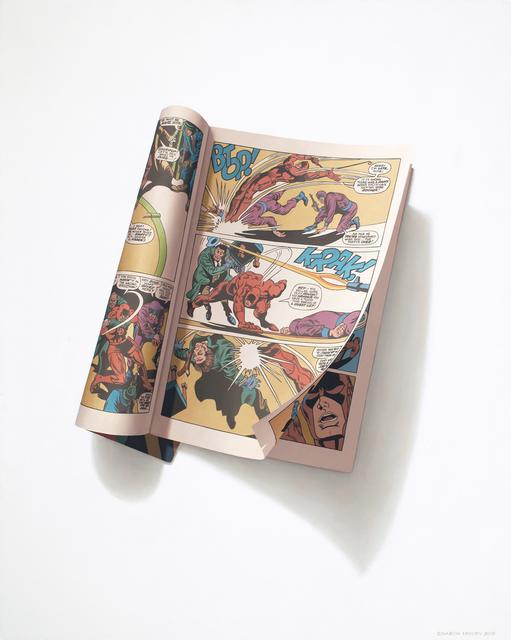 """, '""""Btop! Krak!"""" Daredevil Vol. 1, No. 29, June 1967,' 2015, Bernarducci Gallery"""