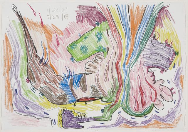 Carroll Dunham, 'Untitled,' 1989, David Nolan Gallery